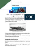 Misteri Jejak Kapal Selam U-Boat Nazi Di Indonesia