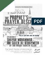 Sifat as Salah Workbook