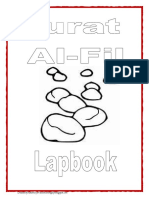Surat Al-Fil Lapbook Templates
