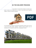 Housing and Delivery Process