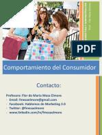 2016-II Comport Consumidor. Sem 1 Introducción