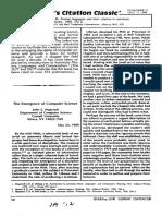 Citation Classic Ullman