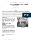 Experimental Analysis and Optimization of Material Consumption
