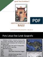 Arsitektur Rumah Adat Bali