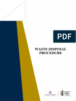 Bio Medical Waste Disposal Procedure