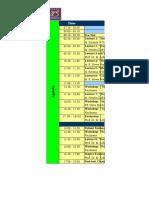 Jadwal Acara AEDU Cetak