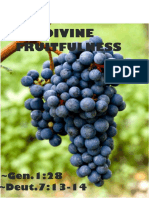 Divine Fruitfulness 4