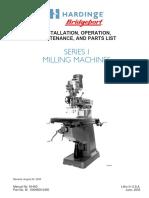 Bridgeport Series 1 Operation Manual