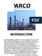 strategic report of parco