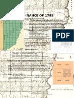 Aphg Land Ordinance of 1785