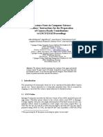 Springer Paper Template