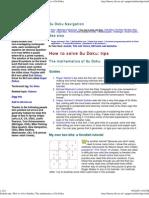 2184413 Sudoku Tips How to Solve Sudoku the Mathematics of Su Doku