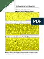 Audit Worksheet Week1