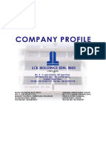 Lck Holdings Profile