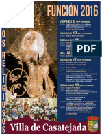 Funcion 2016 Actos Religiosos
