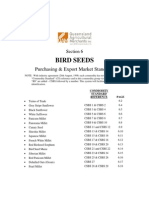 Section 6 - Bird Seed Standards Effective 1 December 2004