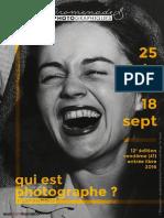 Promenades photographiques de Vendôme 2016 - Programme