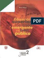 SES2005_C2 -EDS-mercado Emergente y Bien Público