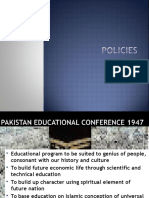 Educational Policies of Pakistan.ppt