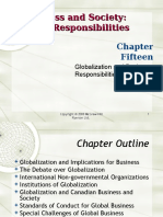 15 Globalization Chp 15 (Apr 9 & 14)