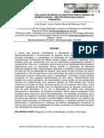 A Construção e Avaliação de Modelos Didáticos Para o Ensino de Ciencias Morfológicas Uma Proposta Inclusiva e Interativa