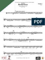 Andantino Violin 2