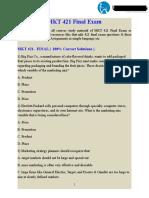UOP Students - MKT 421 Final Exam   MKT 421 Final Exam Complete