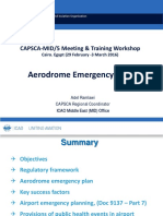 Aerodrome Emergency Planning