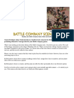 New Scenarios for Battle Companies