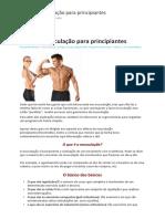 Guia de Musculação