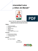 Funciones de agregado, procedimientos almacenados, consultas , tablas temporales,cursores, variable tipo tabla, commint, rolback, errores, try cach..pdf