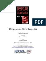 Friedrich Nietzsche - Despojos de Uma Tragédia