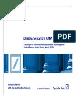 Deutche Bank Model