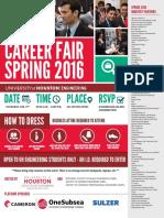 Career Fair Guide Book-spring 2016