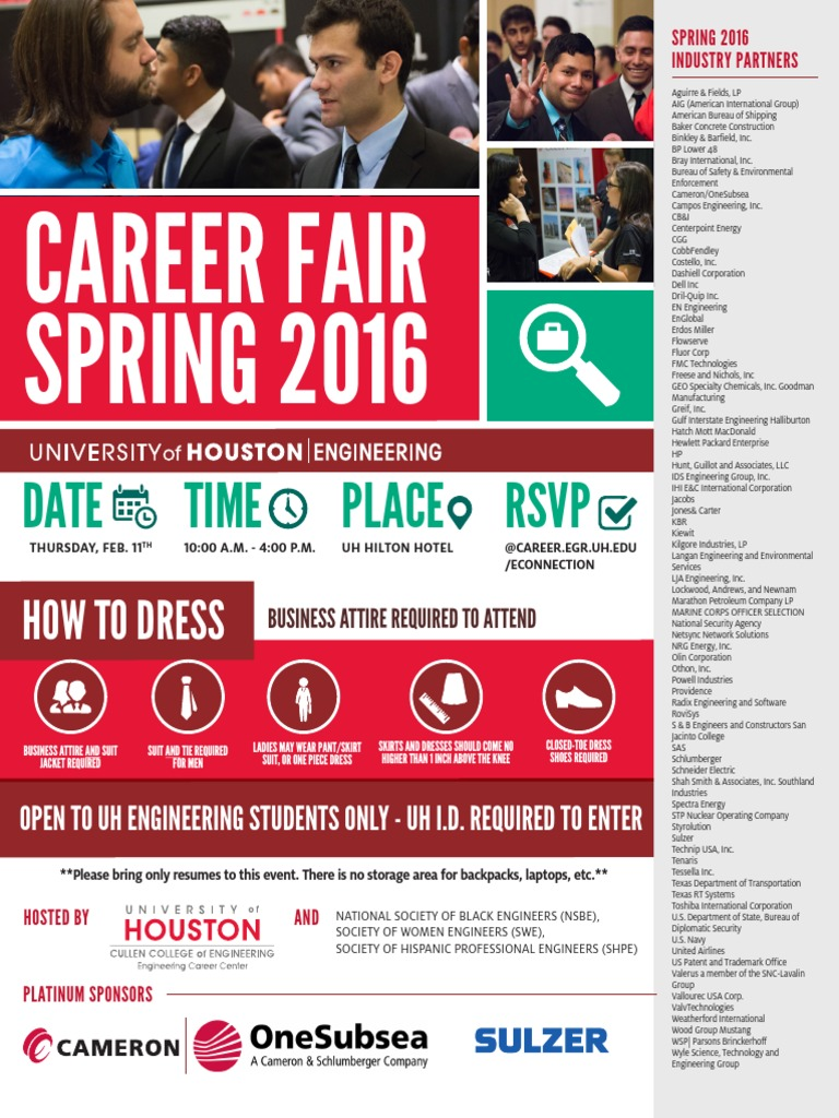 Career Fair Guide Book-spring 2016 | Automation | Engineering