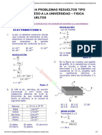 ELECTRODINÁMICA PROBLEMAS RESUELTOS TIP...IVERSIDAD ~ FISICA PROBLEMAS RESUELTOS