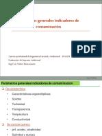 CLASE 02 Parámetros Generales Indicadores de Contaminacion
