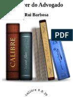 O Dever Do Advogado - Rui Barbosa