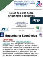 00 Notas de aulas Engenharia Econômica.pdf