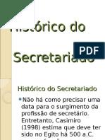 Histórico Secretariado