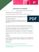 Mariaesther FrancobernalM5S1 Planteamientoinicialdeinvestigaciono-hoja de Trabajo