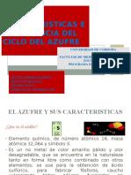 Caracteristicas e Importancia Del Ciclo Del Azufre