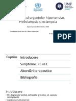 Urgenta HTA - Tratament