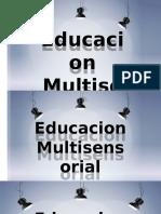 EDUCACION MULTISENSORIAL