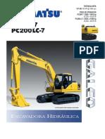 PC200,200LC-7 SALES BROCHURE #GSSS350203 (2002)