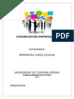Unidad 1 Comunicacion Empresarial