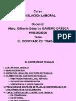 Contrato de Trabajo Diapositivas Trabajo Encargado