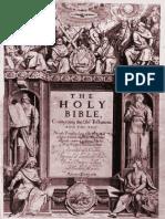 1611 King James Version Scan