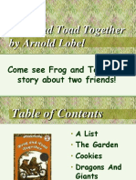 Frog and the Toad