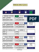 medjuopstinska liga - grupa b - delegiranje - 1  kolo